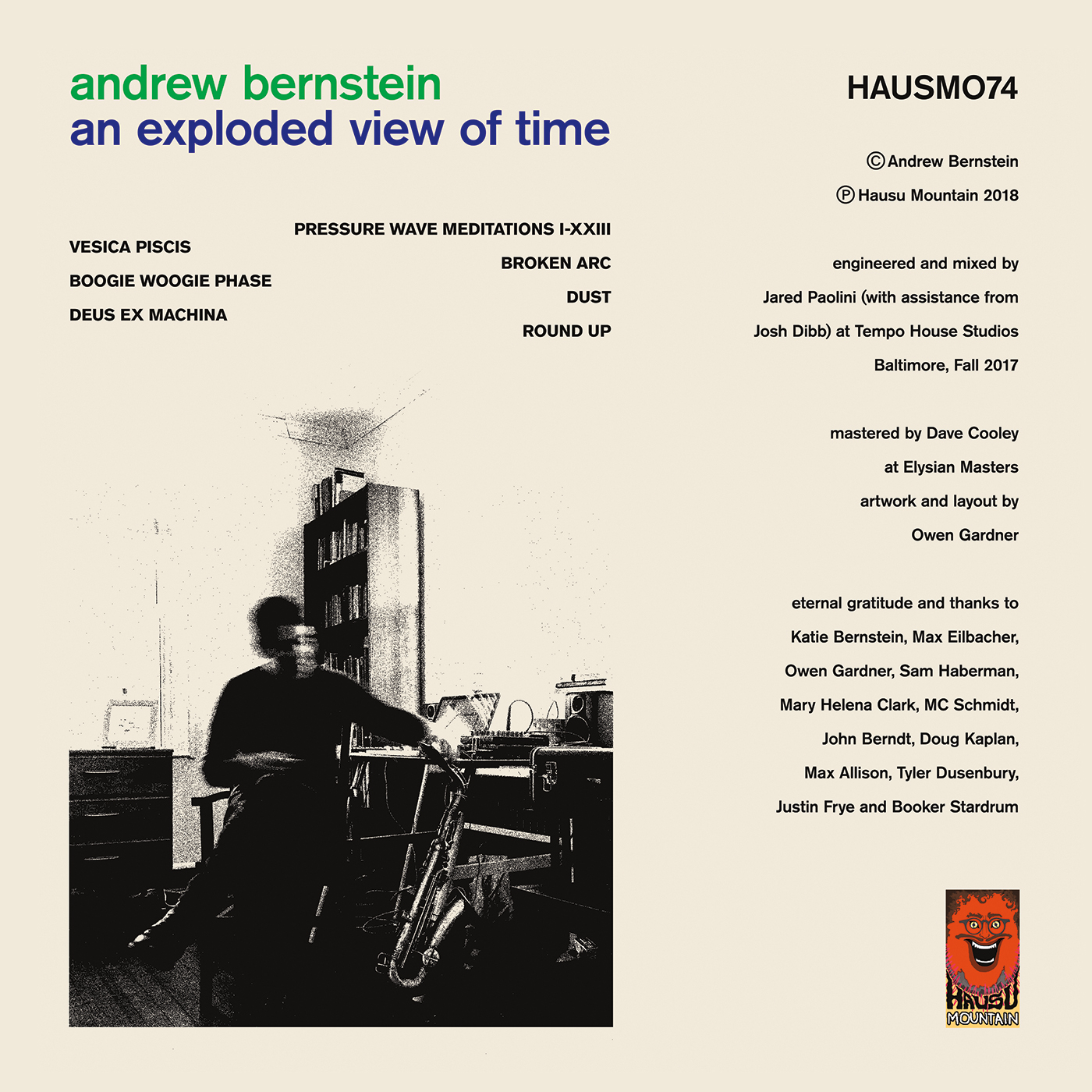 HAUSMO74 - Andrew Bernstein - An Expoded View of Time - BACK